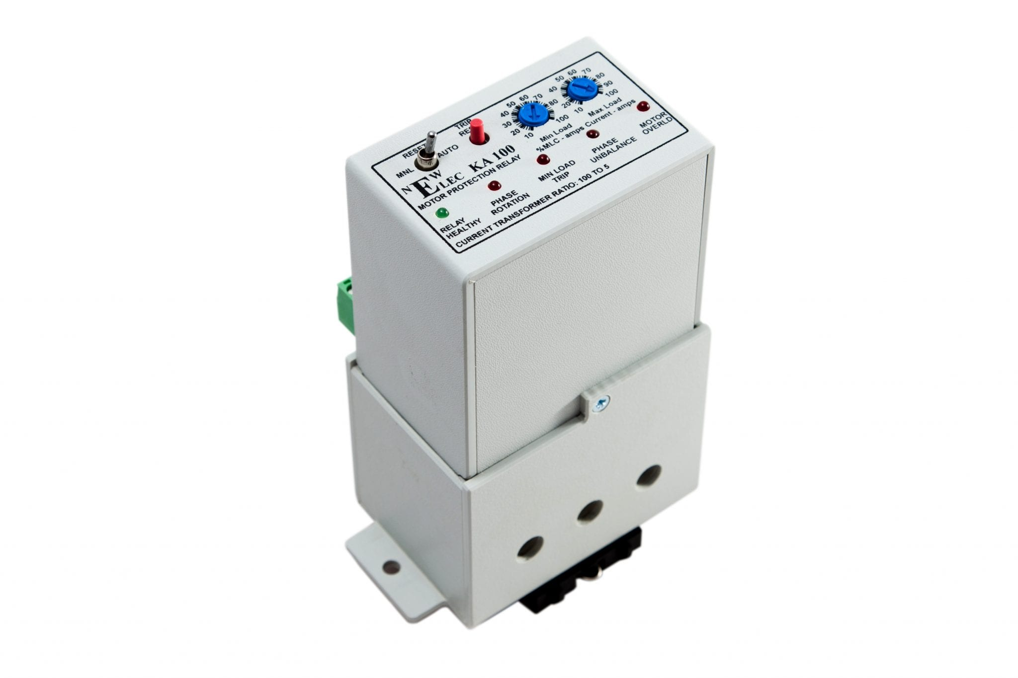 Ka Kb And Kc Series Relays Newelec Circuit Breaker With Relay